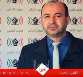 النحال يستنكر قرار حكومة حماسبتشكيل مجلس مؤقت لنقابة الموظفين في غزة