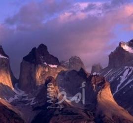 مشهد تاريخي في جبال السعودية - فيديو