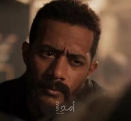 """""""محمد رمضان"""" يحصد الإعجاب بمشهد الفيضان في مسلسل """"موسى"""" - فيديو"""
