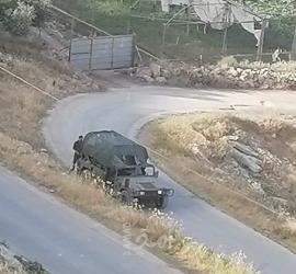 الاحتلال الإسرائيلي يهدم خياماً سكنية تأوي 15 فرداً شرق رام الله