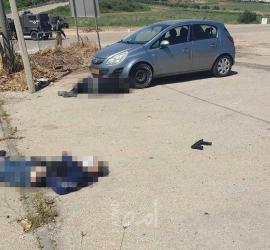 محدث.. جيش الاحتلال يعدم شابين ويصيب ثالث قرب مستوطنة  سالم شمال الضفة - فيديو وصور