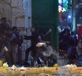 محدث - مواجهات مع قوات الاحتلال في المسجد الأقصى والشيخ جراح... صور -فيديو