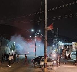 اندلاع مواجهات مع قوات الاحتلال الإسرائيلي غرب جنين
