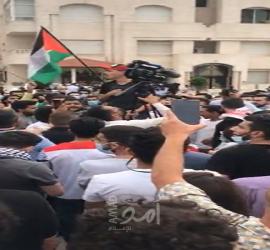 وقفة احتجاجية قرب السفارة الإسرائيلية في عمان ومطالبات بطرد السفير