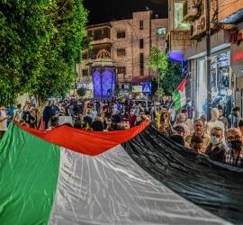 فلسطين تنتفض ..21 شهيدا  في عدوان إسرائيلي على غزة.. ومواجهات في القدس والضفة