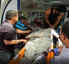 استشهاد الشقيقين منذر ومنار عبدالكريم بركة غرب دير البلح