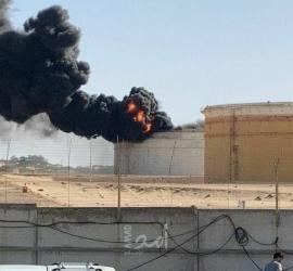 إعلام عبري: إندلاع حريق في خزان وقود بمنشأة استراتيجية للطاقة في جنوب عسقلان - صور