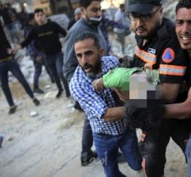 الصحة بغزة: 109شهيد من بينهم 28 طفل و 15 سيدة و 621 اصابة بجراح مختلفة