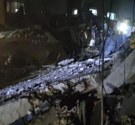 طائرات الاحتلال تقصف برج الأندلس السكني غرب مدينة غزة