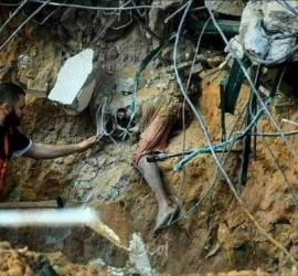 """حماية"""" يدعوا المدعية العامة للمحكمة الجنائية الدولية للتحقيق في جريمة شارع الوحدة بغزة"""