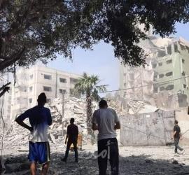 جيش الاحتلال: طائرات حربية قصفت مقر الأمن الداخلي شمال قطاع غزة