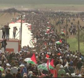 فصائل تدين سياسة جيش الاحتلال بحق المسيرات الشعبية