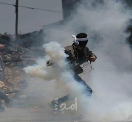 إصابات بالاختناق جراء قمع الاحتلال الإسرائيلي مسيرة كفر قدوم