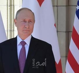 بوتين يفتتح نفقًا ضخمًا للسكك الحديدية