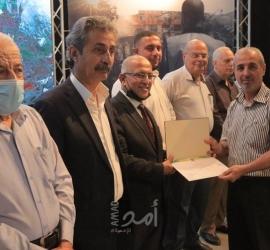 """بلدية غزة تُكرم موظفيها الذين عملوا خلال """"العدوان الأخير"""""""