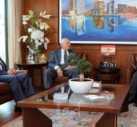 الأحمد يبحث مع المدير العام للأمن العام اللبناني أوضاع المخيمات