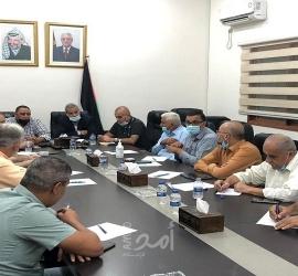 """قلقيلية: اجتماع اللجنة الطبية المساندة لمواجهة تفشي """"كورونا"""""""