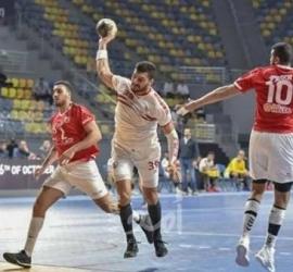 يؤكد تفوقه.. الزمالك يفوز على الأهلي 32-27 في دوري المحترفين لكرة اليد