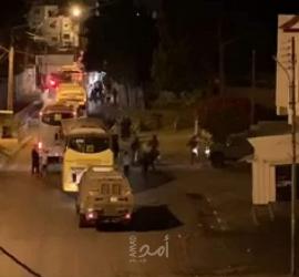 اصابات بالاختناق خلال مواجهات مع قوات الاحتلال جنوب جنين