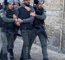 قوات الاحتلال تعتقل شابا في سلوان