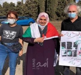 الأسيرة المٌحررة نسرين أبو كميل تُناشد بالسماح لها دخول غزّة - فيديو