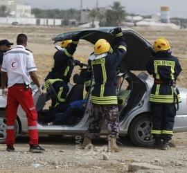 الدفاع المدني: طواقمنا تعاملت مع (25) حادث ومهمة خلال 24 ساعة بالضفة