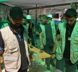 """""""هندسة المتفجرات"""" بداخلية حماس تُحيّد خطر قذيفة من مخلفات الاحتلال شمال غزة"""