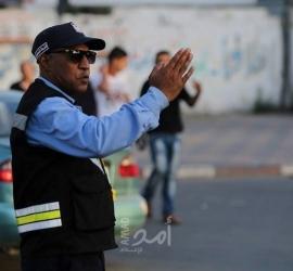 مرور غزة: 3 إصابات في (6) حوادث سير بالقطاع