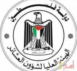 العليا للعشائر تدعوا إلى التكافل الاجتماعي في المجتمع الفلسطيني في ظل العداون على غزة