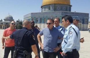 """""""أردان"""" يوقع قرارات جديدة لحظر أنشطة السلطة في القدس"""