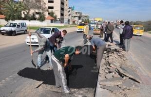 """مرور غزة: إغلاق كلي لشارع """"ابن سينا"""" قرب """"الشفاء"""" بسبب أعمال صيانة"""