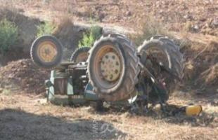 قوات الاحتلال تستولي على جرار زراعي جنوب بيت لحم