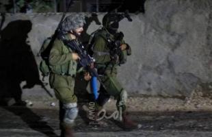 قوات الاحتلال تقتحم أحياء و تعتقل 14 مواطن من محافظات الضفة الغربية