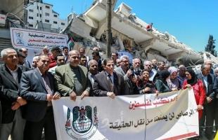 نقابة الصحفيين تحمل الاحتلال استمرار إعتداءاته المتعمدة بحق المؤسسات الإعلامية
