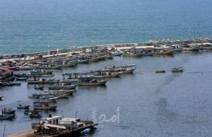 لجان الصادين: مساحة الصيد ممنوعة من شمال القطاع وحتى ميناء غزة
