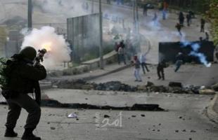 إصابات بالاختناق خلال اقتحام قوات الاحتلال بيت أمر شمال الخليل