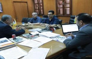 بلدية غزة توقع مذكرة مع جمعية نطوف لتطوير حديقة بنك الدم