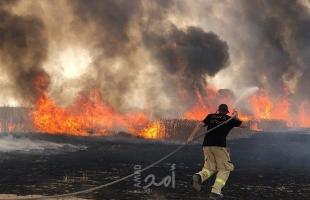 دعوات إسرائيلية بالرد الحاسم على اطلاق البالونات الحارقة من غزة