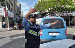 """حالة الطرق وحوادث السير في قطاع غزة """"الأربعاء"""""""