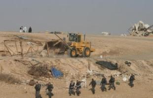 النقب: سلطات الاحتلال تهدم قرية العراقيب للمرة 182
