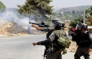 إصابات بالاختناق باطلاق قوات الاحتلال قنابل الغاز شرق قلقيلية