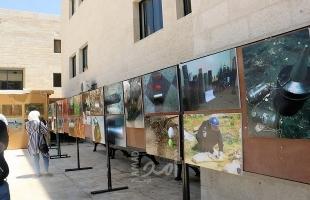 الشرطة تفتتح معرض الأجسام المشبوهة بجامعة النجاح الوطنية في نابلس