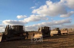 إطلاق النار بشكل مكثف تجاه أراضي المواطنين شرق جحر الديك ومخيم البريج