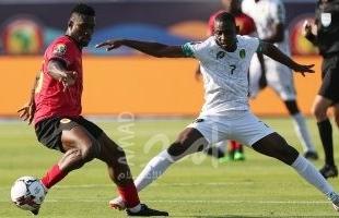 أول تعادل سلبى فى أمم أفريقيا 2019 بين موريتانيا وأنجولا