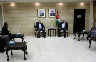 أبو العسل يبحث مع وفد أوكراني على حجم المعاناة التي يكابدها المواطن الفلسطيني في الأغوار