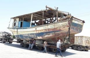 سلطات الاحتلال تفرج عن (20) قارب صيد محتجز من غزة