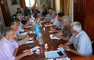 هيئة مسيرات كسر الحصار تعلن نتائج اجتماعها في غزة الاثنين