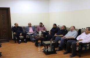 بلدية جباليا النزلة تطلب من وزارة الحكم المحلي مساعدتها في حل عدة قضايا