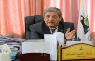 عباس يقبل استقالة الشرافي من رئاسة جامعة الأقصى