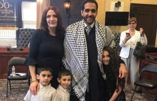 """بالصور.. تعيين الفلسطيني """"عبد المجيد عبد الهادي"""" قاضي قضاة لمدينة """"باترسون"""" الأمريكية"""